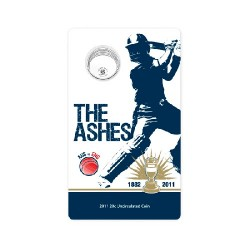 2011 20c The Ashes Uncirculated Coin