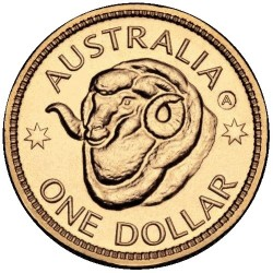 2011 $1 Ram's Head ANDA A Adelaide Counterstamp Unc Coin in Card