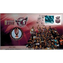 2011 NRL Premiers Sea Eagles & Stamp Cover PNC