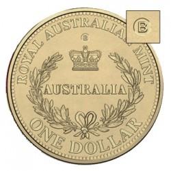 2016 $1 Australia's First Mints - B Brisbane Counterstamp Coin in Card