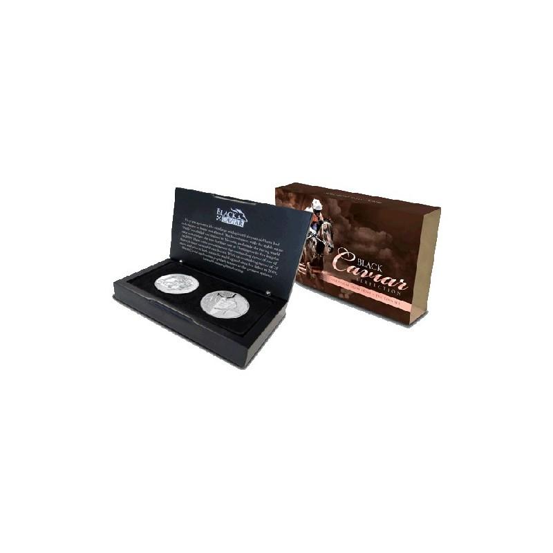 2013 $1 Black Caviar 2 Coin Silver Set