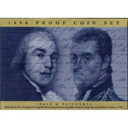 1998 Proof Set - Bass & Flinders