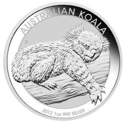 2012 $1 Australian Koala 1oz Silver Bullion Coin