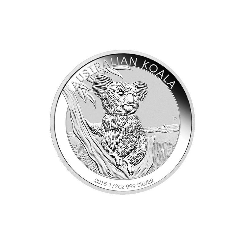 2015 50c Australian Koala 1 2 Oz Silver Bullion Coin