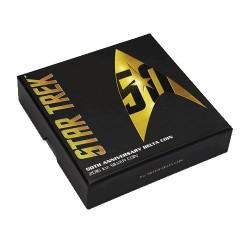 2016 $1 Star Trek : The Original Series 50th Anniversary 1oz Silver Delta Coin
