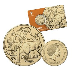 2016 $1 Perth ANDA Show Mob of Roos P Privy Mark Unc Coin in Card