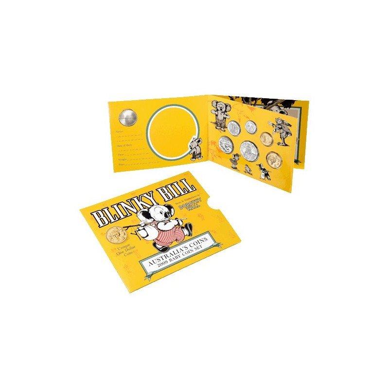 2009 Baby Mint Set - Blinky Bill