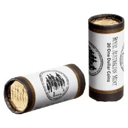 2009 $1 Centenary of Commonwealth Aged Pension Mint Roll