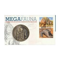 2008 Megafauna Limited Edition Stamp & Medallion Cover PNC