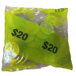 2007 $1 APEC Summit Armaguard Bag of 20 Unc Coins