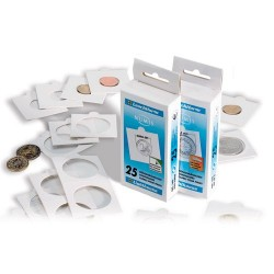 Lighthouse Coin Mounts KRS20 Box of 25 Self Adhesive Mounts