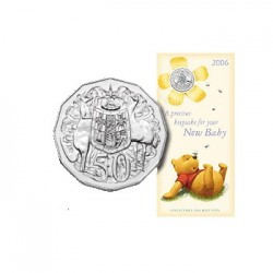 2006 50c Baby Keepsake Uncirculated Coin in Card