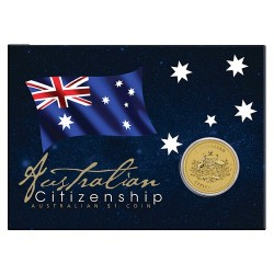 2017 $1 Australian Citizenship Uncirculated Coin in Card