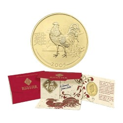 2005 50c Year of the Rooster Money Packet