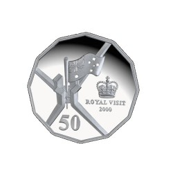 2000 50c Royal Visit Uncirculated Coin in Pack