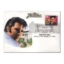 1993 Elvis Presley First Day Cover January 8, 1993