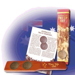ANZAC Commemorative Two Up Set