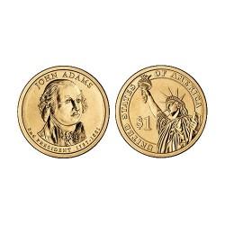 2007 USA $1 Thomas Jefferson P Mint Presidential Dollar Unc Coin