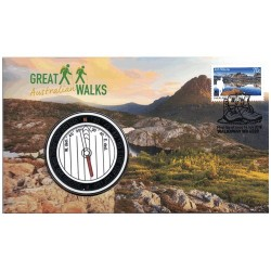 2015 Great Walks Limited Edition Medallion Cover