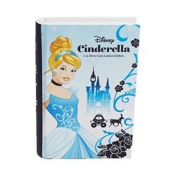 2015 $2 Disney Princess Cinderella 1oz Silver Proof Coin