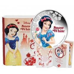 2015 $2 Disney Princess Snow White 1oz Silver Proof Coin