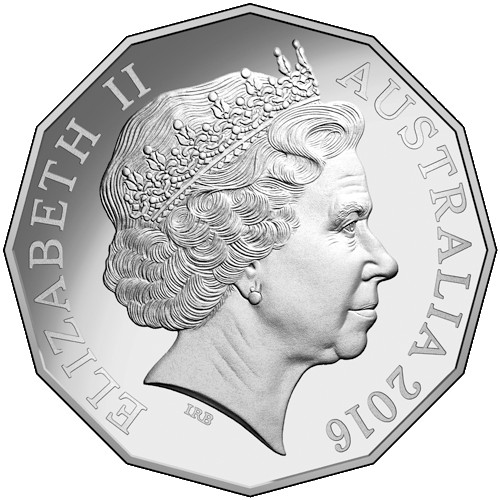 Australia 2016 Queen Elizabeth II 90th Birthday 50c /& 20c 3 X Frosted UNC Coins