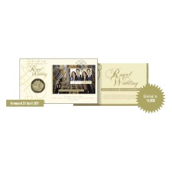 2011 Royal Wedding Medallion Cover