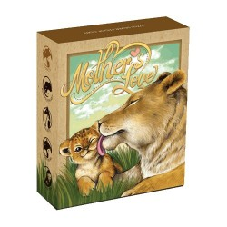 2014 50c Mothers Love Series - Lioness 1/2oz Silver Proof Coin