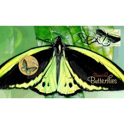 2016 $1 Beautiful Butterfllies - Australian Richmond Butterfly Coin & Stamp Cover PNC