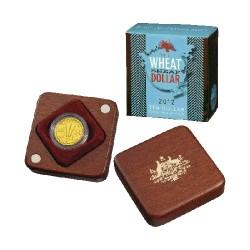 2012 $10 Wheat Sheaf Ballot Coin C Mintmark Gold Proof Coin
