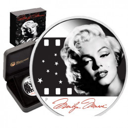 2012 $1 Marilyn Monroe 1oz Silver Proof Coin