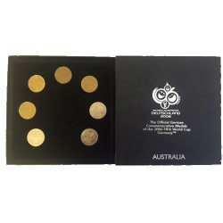 2006 The Official Commemorative Medals for the 2006 FIFA World Cup Germany
