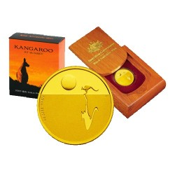 2009 $25 Kangaroo at Sunset 1/5oz Gold Proof Coin - BALLOT Only
