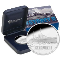 2008 $1 HMAS Sydney II 1oz Silver Proof Coin