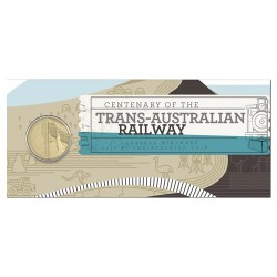 2017 $1 Centenary of the Trans-Australian Railway C Mintmark