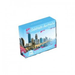 2010 $1 Celebrate Australia ANDA Brisbane Show 1oz Silver Proof Coin