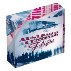 2010 $1 Centenary of Australian Flight 1oz Silver Proof Coin