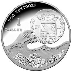 2011 $1 Subscription Made to Order Coin - Zuytdorf Shipwreck 1oz Silver Proof Coin