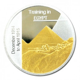2005 Sands of Gallipoli Limited Edition - Training in Egypt Medallion