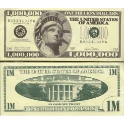 USA Million Dollar Novelty Note Bundle of 100