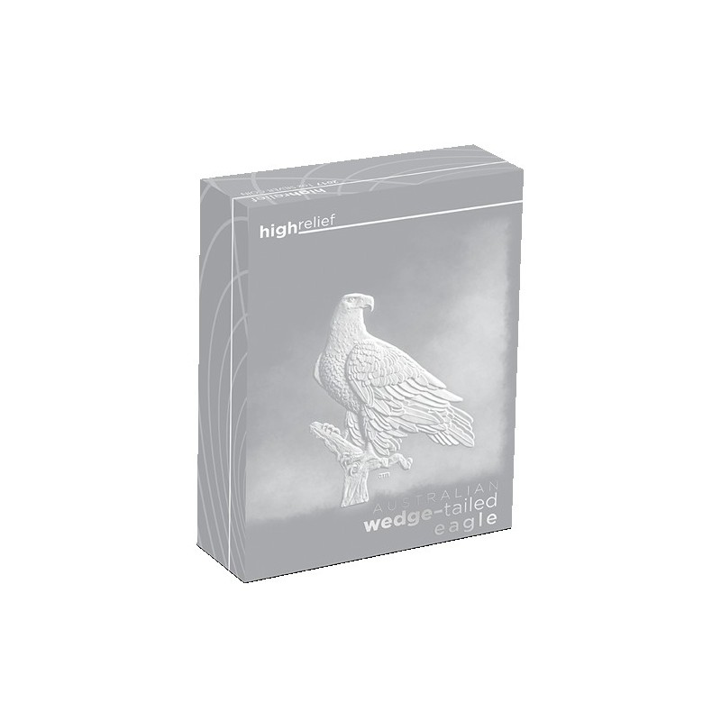 2017 $1 Australian Wedge Tailed Eagle High Relief 1oz Silver Proof Coin