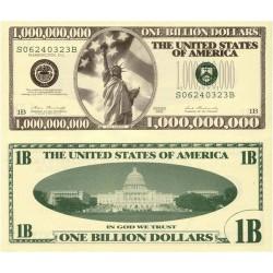 USA Billion Dollar Novelty Note Each