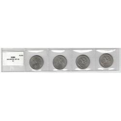 2005 USA Nickel Set 4 BU - Lewis & Clark / American Bison