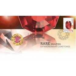 2017 $1 Rare Beauties Coin & Stamp Cover PNC