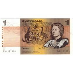 1982 $1 R78 Johnston / Stone General Prefix aUnc Paper Australian Banknote