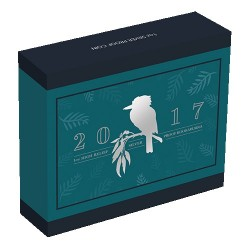 2017 $1 Australian Kookaburra 1oz High Relief Silver Proof Coin
