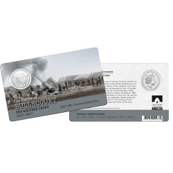 2017 50c The Western Front - Bullecourt 1917 - 2017 Unc Coin in Card
