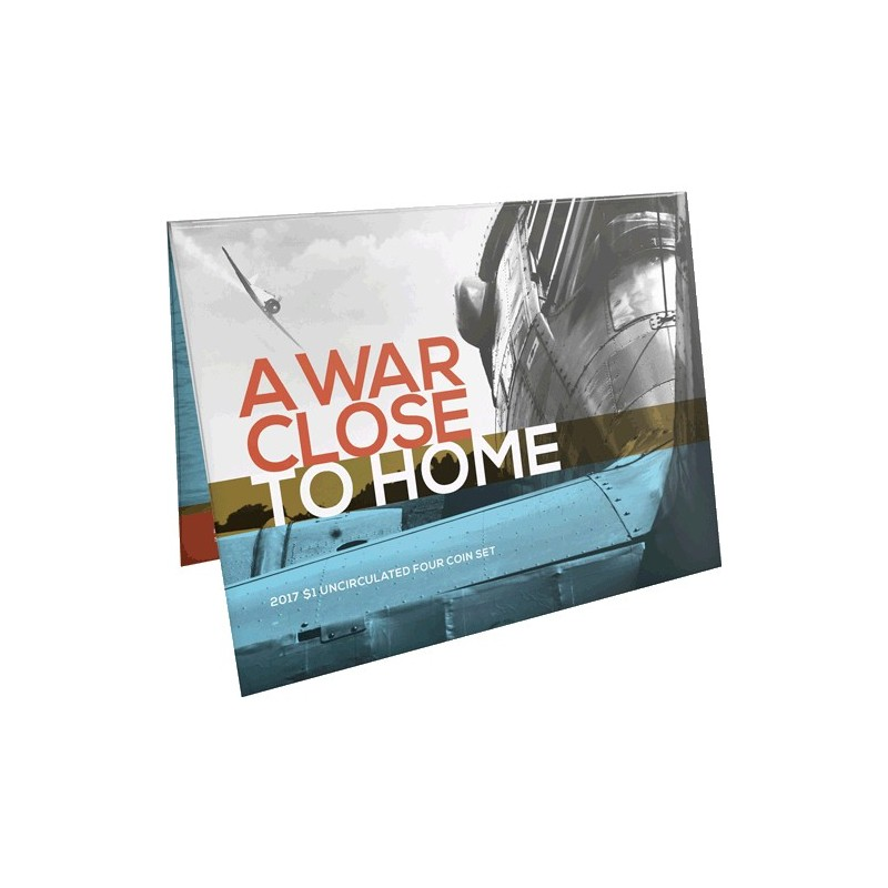 2017 $1 A War Close to Home 4 Coin Uncirculated Set