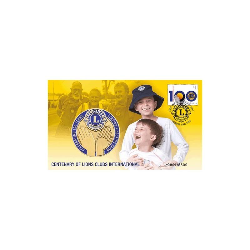 PNC Australia 2017 Lions Clubs International Centenary Medallion Limited Ed 3500