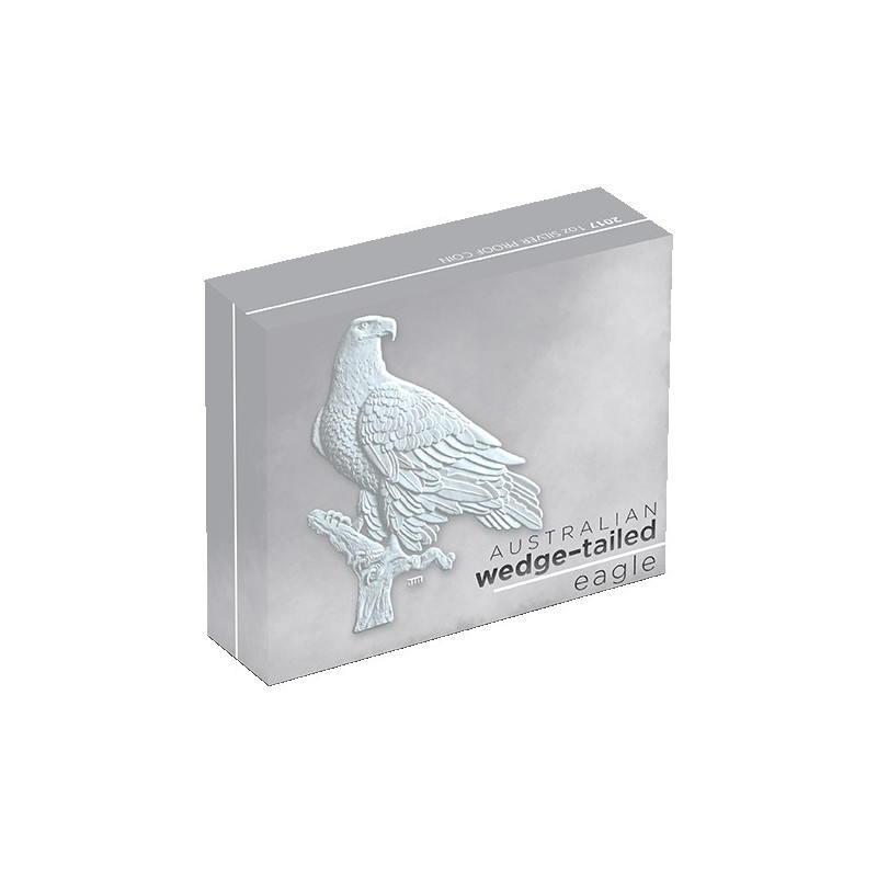 2017 $1 Australian Wedge Tailed Eagle 1oz Silver Proof Coin